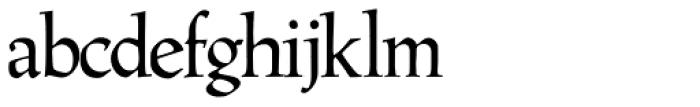 Hadrianus Font LOWERCASE