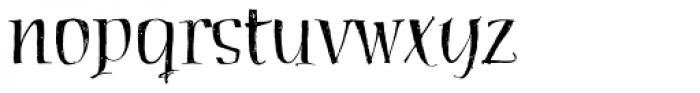 Haegtor Font LOWERCASE