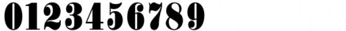 Haenel Antiqua Bold Condensed Font OTHER CHARS