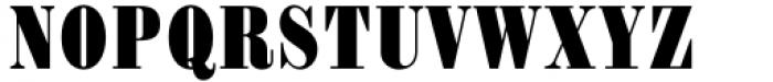 Haenel Antiqua Bold Condensed Font UPPERCASE