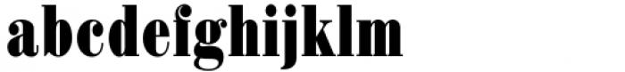 Haenel Antiqua Bold Condensed Font LOWERCASE