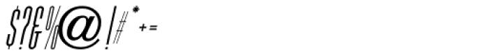 Hagemann Oblique JNL Font OTHER CHARS