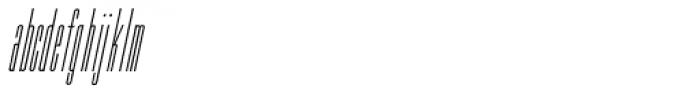 Hagemann Oblique JNL Font LOWERCASE
