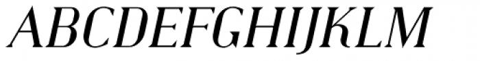 Haggard Italic Font UPPERCASE