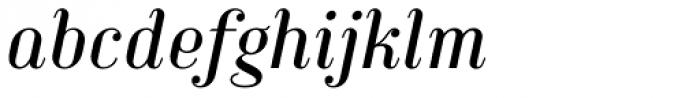 Haggard Italic Font LOWERCASE