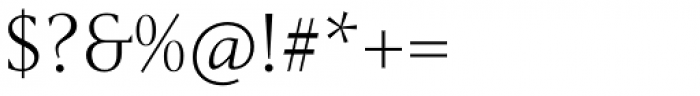 Haggard Nova Light Font OTHER CHARS