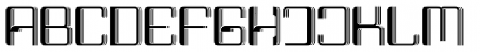 Haike 3D Font UPPERCASE