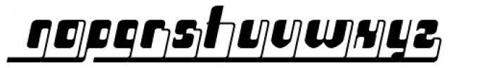 Haike Bold Alt End Italic Font LOWERCASE