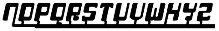 Haike Bold Bold Alt Caps Italic Font UPPERCASE