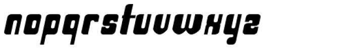 Haike Bold Bold Italic Font LOWERCASE
