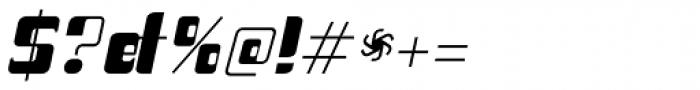 Haike Bold Italic Font OTHER CHARS