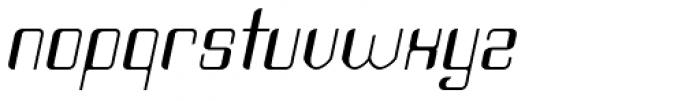 Haike Italic Font LOWERCASE
