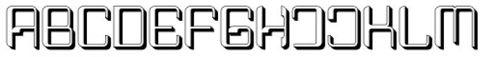 Haike Plastik Font UPPERCASE