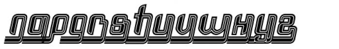Haike Reg Alt Ends College Italic Font LOWERCASE