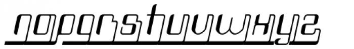 Haike Reg Alt Ends Italic Font LOWERCASE