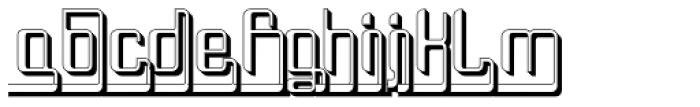 Haike Reg Alt Ends Plastik Font LOWERCASE