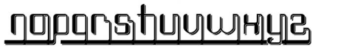 Haike Reg Alt Ends Shadow Font LOWERCASE