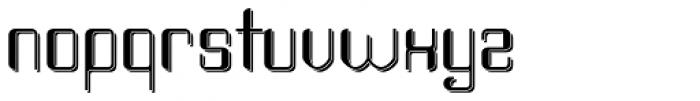 Haike Shadow Font LOWERCASE
