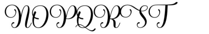 Haileyna Regular Font UPPERCASE