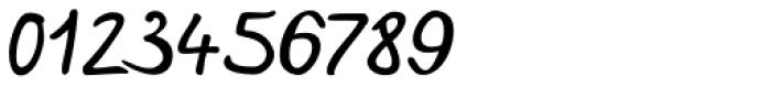 Hakon Handwriting Font OTHER CHARS