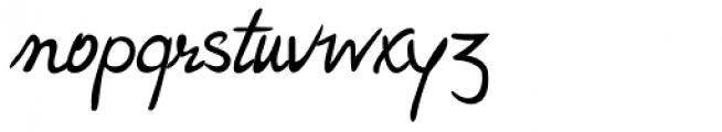 Hakon Handwriting Font LOWERCASE