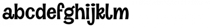 Halau Light Font LOWERCASE
