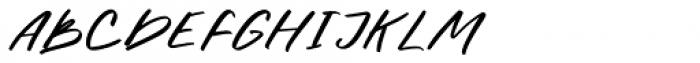 Halbrein Regular Font UPPERCASE
