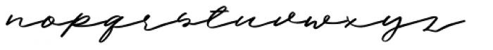 Halbrein Regular Font LOWERCASE