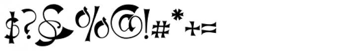 Haldane Font OTHER CHARS