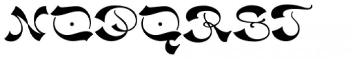 Haldane Font UPPERCASE