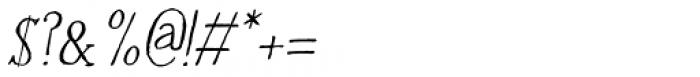 Halewyn Italic Font OTHER CHARS