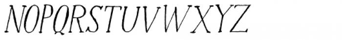 Halewyn Italic Font UPPERCASE