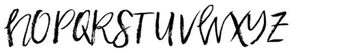 Halfback Alternates Font UPPERCASE