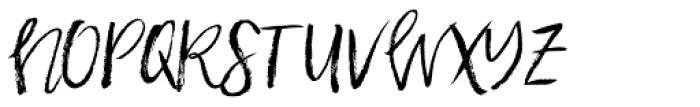 Halfback Alternates Font LOWERCASE
