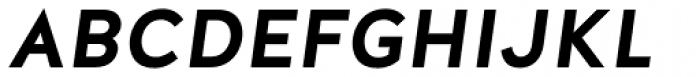 Halis Grotesque Bold Italic Font UPPERCASE