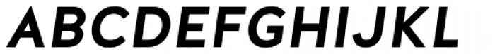 Halis Grotesque SC Bold Italic Font UPPERCASE