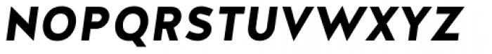 Halis Grotesque SC Bold Italic Font LOWERCASE