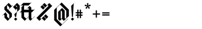 Halja Illuminated Font OTHER CHARS
