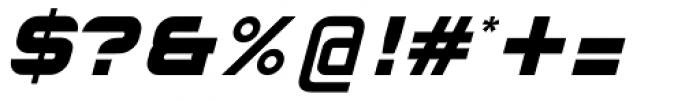 Hallock Bold Italic Font OTHER CHARS