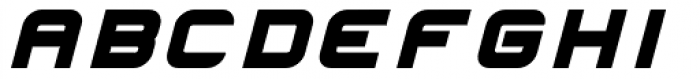 Hallock Bold Italic Font UPPERCASE