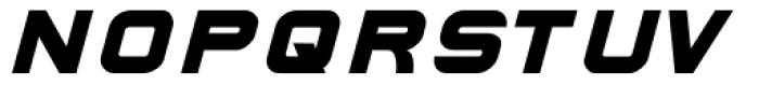 Hallock Bold Italic Font LOWERCASE