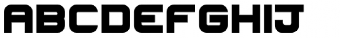 Hallock Bold Font LOWERCASE