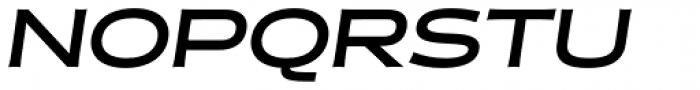 Halogen Flare Bold Oblique Font UPPERCASE