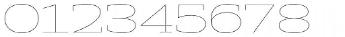 Halogen Slab Hairline Font OTHER CHARS