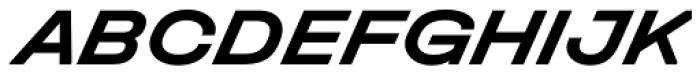 Halvar Breitschrift Bold SuperSlanted Font UPPERCASE