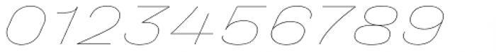 Halvar Breitschrift Hairline SuperSlanted Font OTHER CHARS