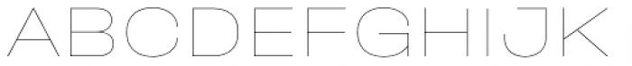 Halvar Breitschrift Hairline Font UPPERCASE