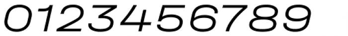 Halvar Breitschrift Light Slanted Font OTHER CHARS