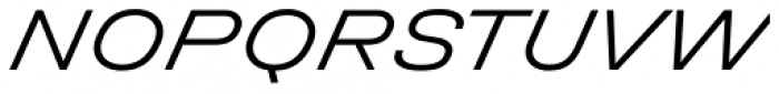 Halvar Breitschrift Light SuperSlanted Font UPPERCASE