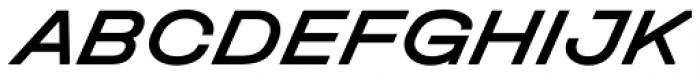 Halvar Breitschrift Medium SuperSlanted Font UPPERCASE